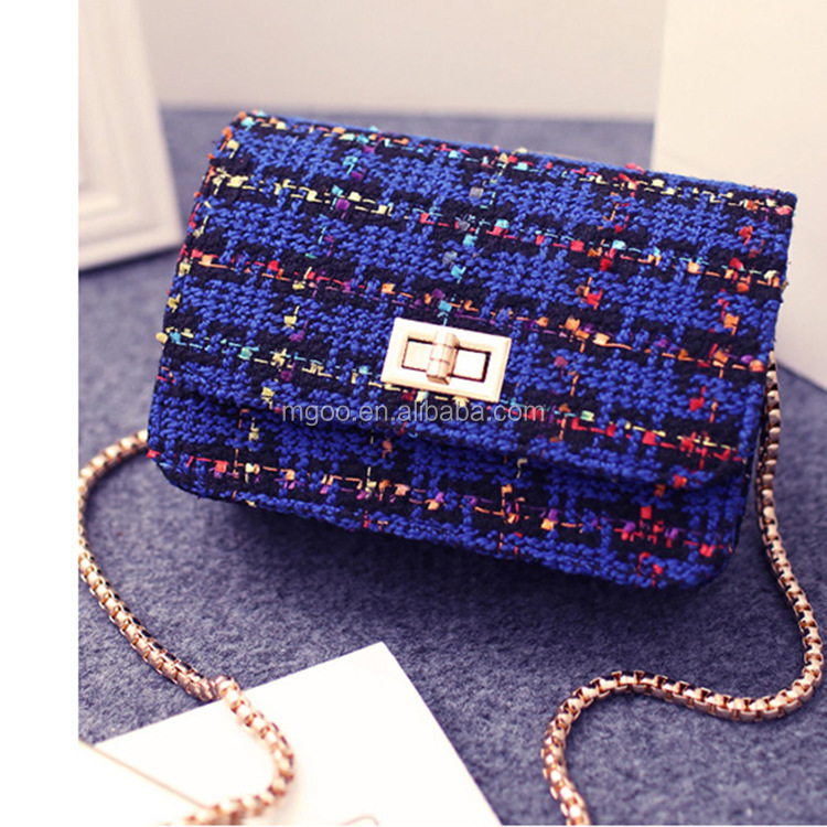 Cheap Price Wholesale Four Colors Crystal <strong>Handbags</strong> For Women Unbrand Shinning Plaid Clutches Ladies BB001