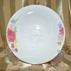 "light blue side circle 10.5""vegetable dish Linyi Factory"
