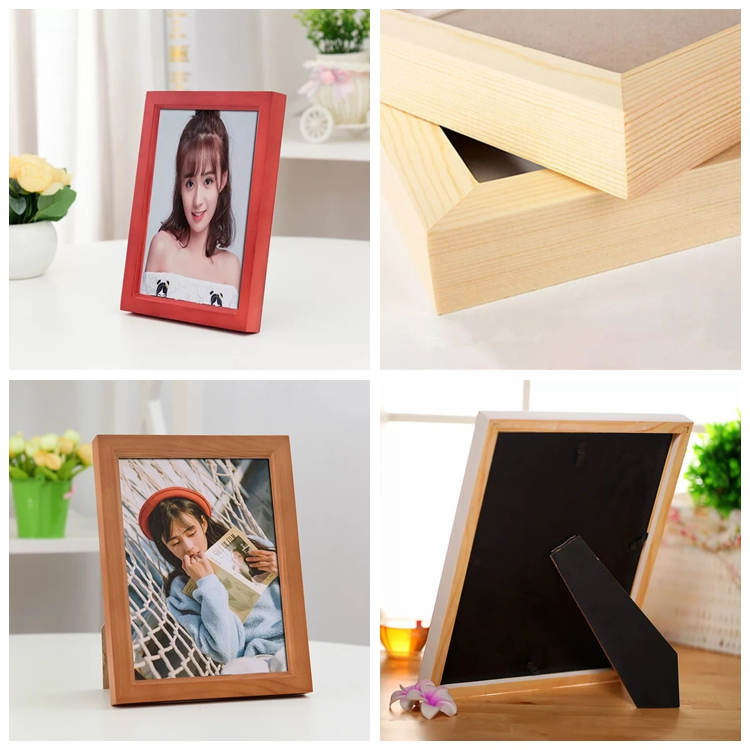 Best Selling Custom Design Picture Holding Wooden Photo Frame In The House