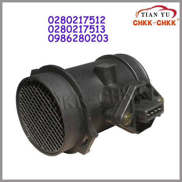 High Quality Auto Sensor Mass Air Flow Sensor Meter 0280217512 / 0 280 217 512 / 021906462A