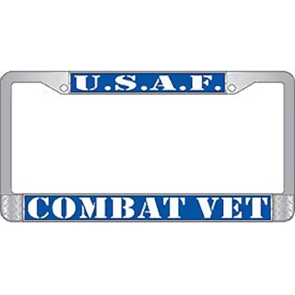 Buy U.S. Army Combat Veteran License Plate Frame - Veteran Owned ...
