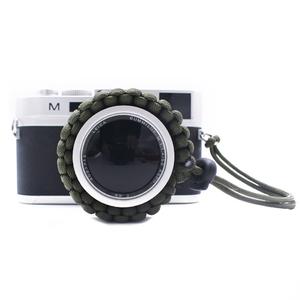 Custom Logo Adjustable Outdoor Braided Manufacturer DSLR Camera Wrist Strap