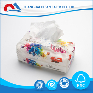 Printed Facial Tissue Mini Pocket Tissue