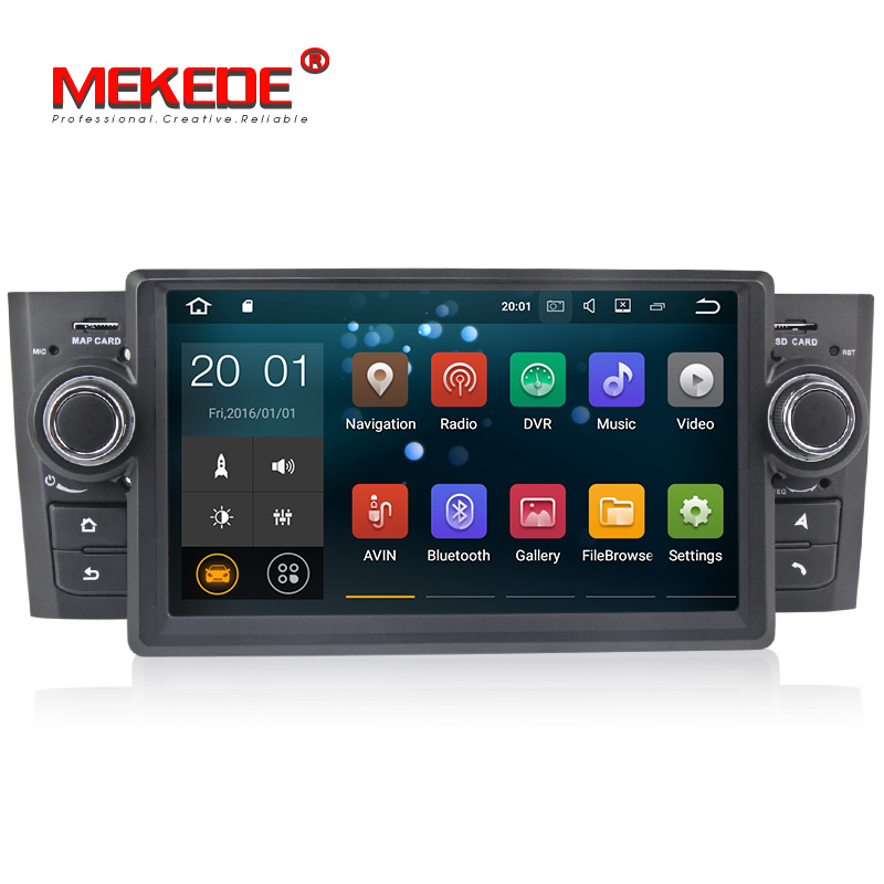 MEKEDE 7 Zoll px3 Android 8.1 Auto DVD Player für Fiat Grande Punto Linea 2007-2012 mit GPS WIFI CANBUS auto radio 2G RAM + 16G ROM