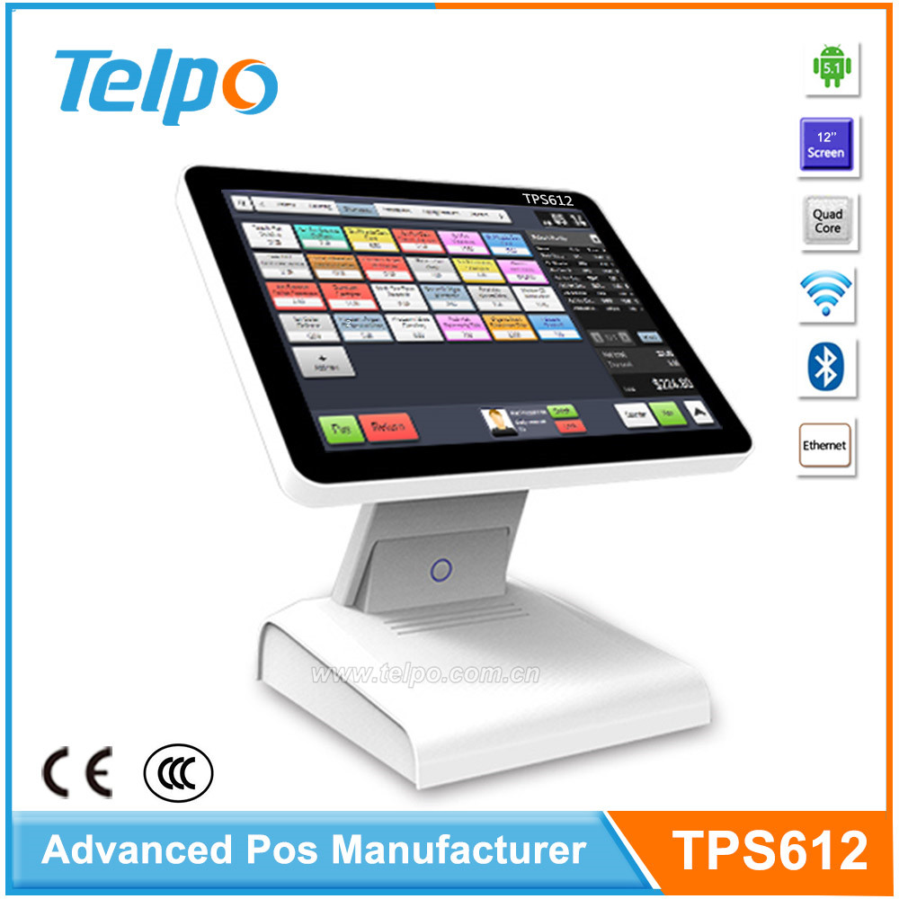 Complete Retail All In One Pos Android System e POS Solutions for small business hotel TPS612