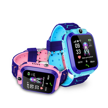 OEM SOS Call Tracker Device Q12 Smart Watch GPS Kids Phone with Digital Camera Waterproof Smartwatch