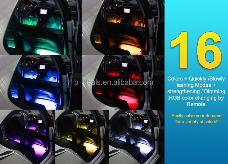 Car Decoration Lamp Rgb Auto Interior Led Atmosphere Light For Car ...