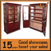 Best quality spanish cedar wood cigar cabinet with adjustable shelves