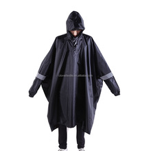 Raincoat Poncho Waterproof Raincoat Fabric PU Nylon Rainwear
