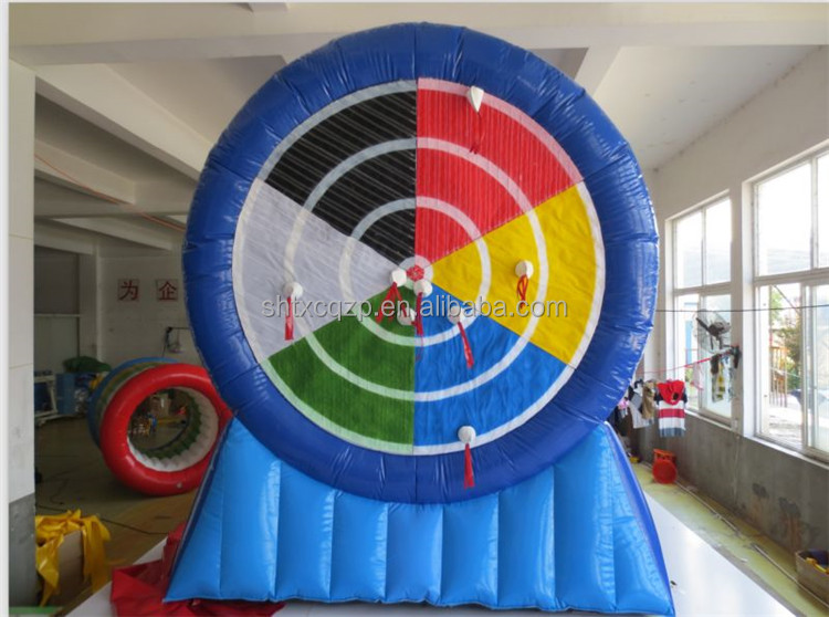 Customized inflatable dart game/inflatable soccer darts ,inflatable dartboard for sale