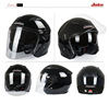 Factory Dual lens 9 colors Half JK512 Electric Bicycle Motorbike Helmets for Adults