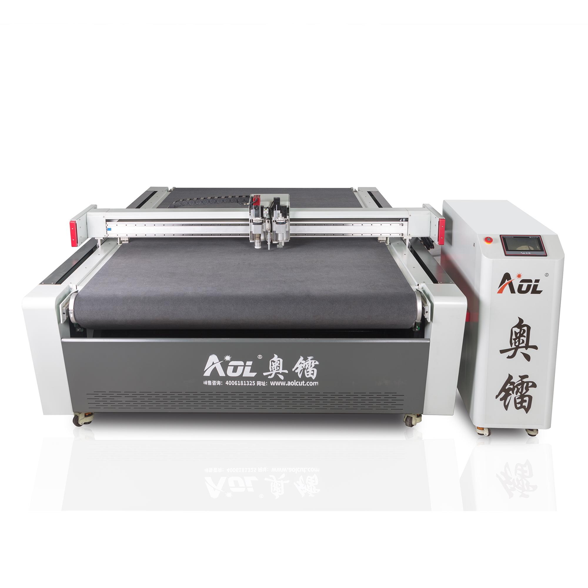 AOL automatic ComputerIized Controlled Cutting Systems with Dual Heads for Carton Sampling Making Cutter