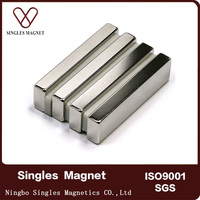 manufacturers china Rare earth Sintered 50mm large block NdFeB neodym magnet for sale