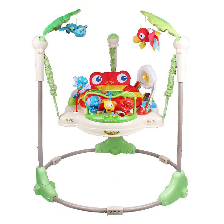 Free Shipping Rainforest Jumperoo Baby Bouncer Rocking
