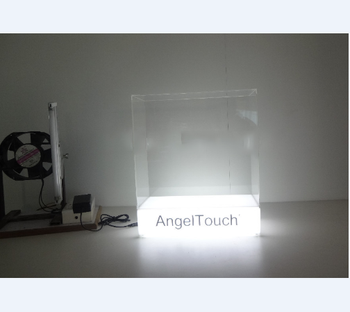 Small Simple Transpa Acrylic Led Light Box Display Stand Product On Alibaba