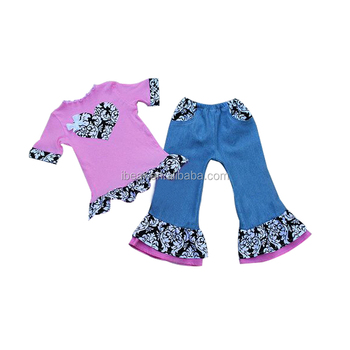 Hand Embroidery Designs For Baby Dress Love Outfit Knitted Jeans