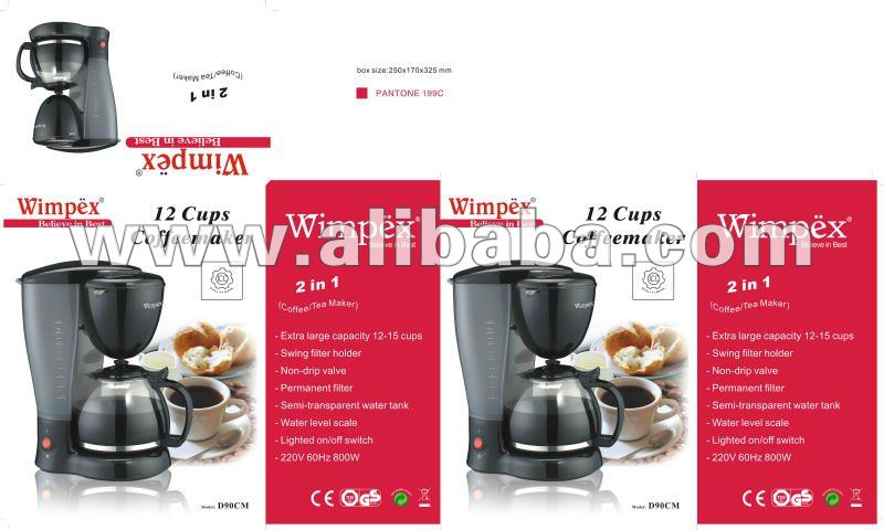 12 Cups Coffee Maker Buy Coffee Maker Product On Alibabacom
