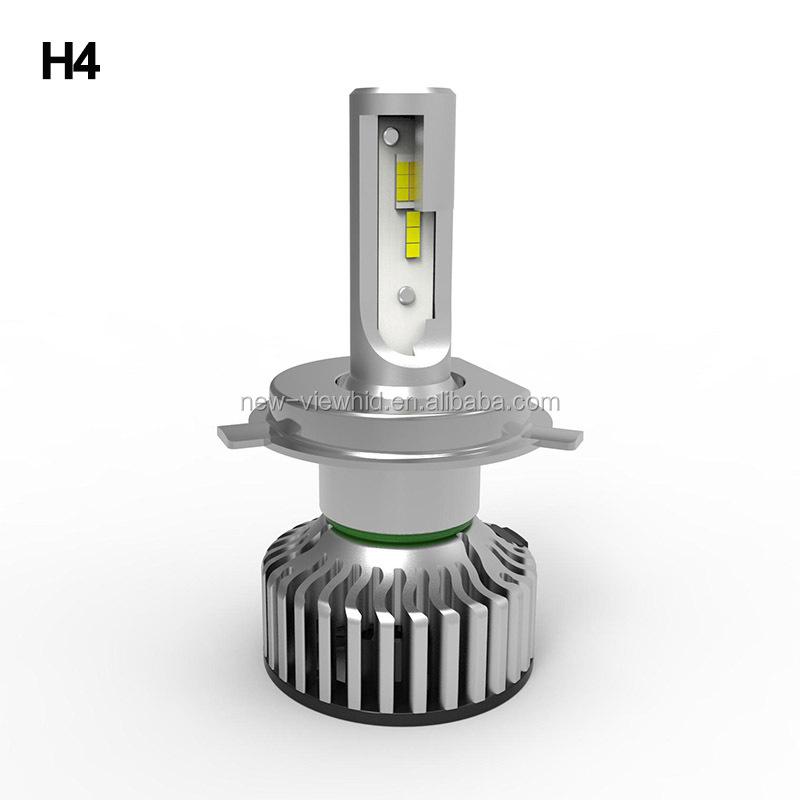 Dual color auto led headlight car light