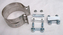 exhaust flat band clamp