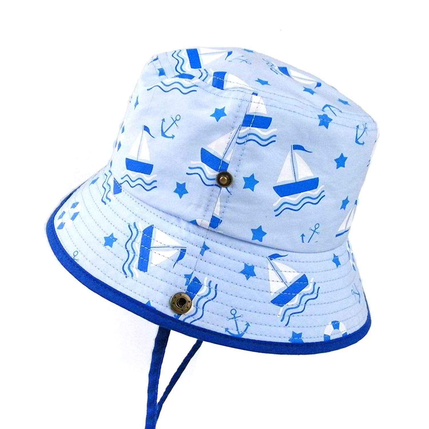 83963f7087e Get Quotations · Baby Girls Bucket Summer Sun Hat Toddler Kids Breathable  Foldable Cotton UV Sun Protection Hats