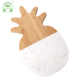 New products marble and bamboo material fruit shaped cutting board