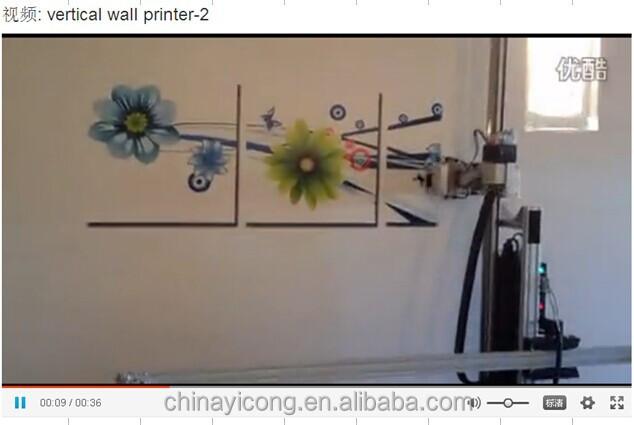Yc 2125fwp direct image printing machine for wall buy wall printer