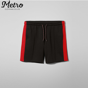 wholesale running athletic mens red activewear basketball jogger sweat shorts