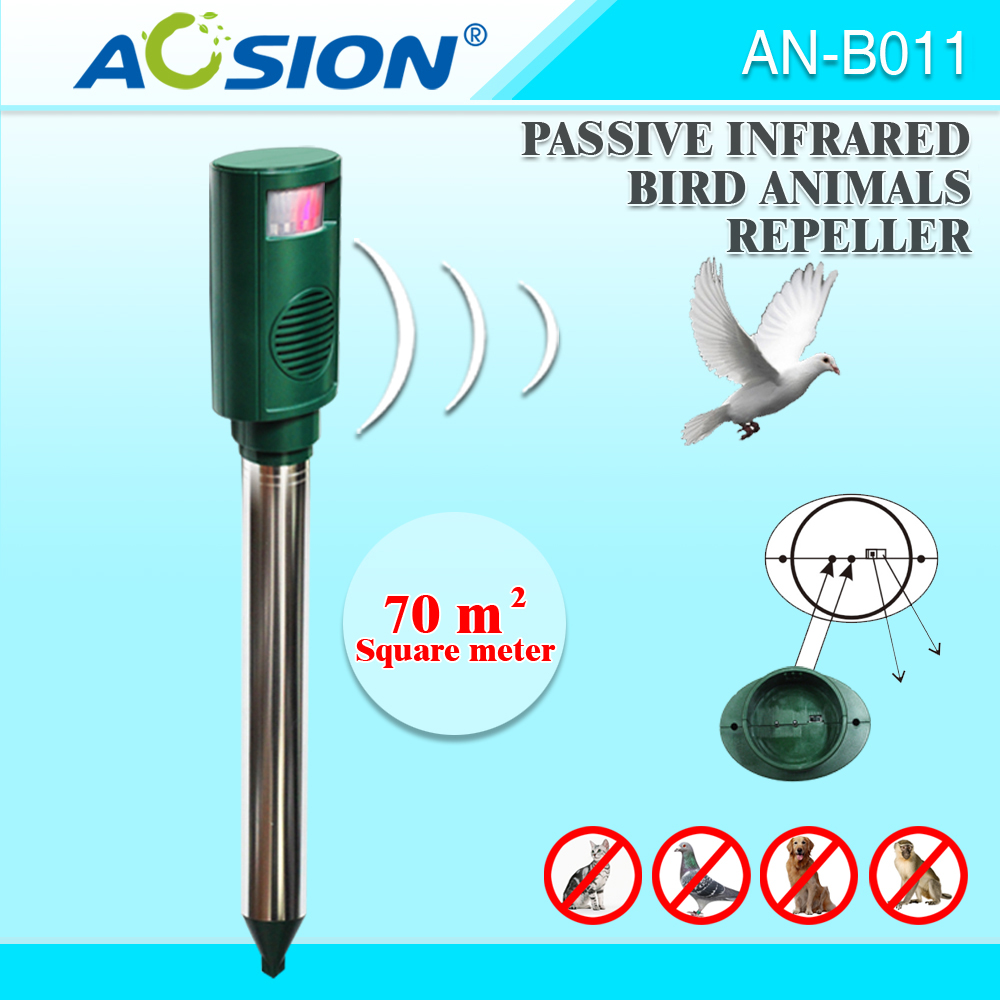 Aosion Patent Protection Infrared Pest Control Sound Machine Pigeon Bird  Repeller Outdoor - Buy Bird Repeller Infrared,Bird Repeller Outdoor,Bird