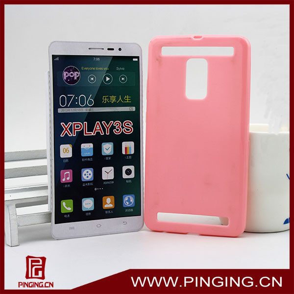 new product soft pink tpu back cover case for vivo x3s xplay3s