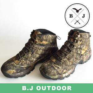 High quality camouflage boot hunting men winter boot outside hiking shoes from BJ Outdoor