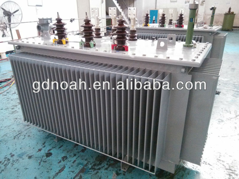 1600kva three phase voltage used oil distribution transformer