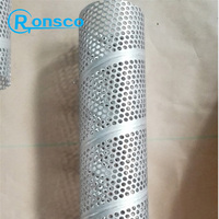 Hydropower Plant spiral welded hot dip galvanized perforated pipes