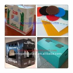 Folding Corrugated Plastic Shipping Box