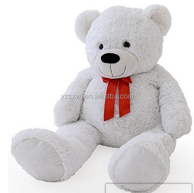 free sample Large white teddy bear toys for christmas cheap christmas toys gaint white bear