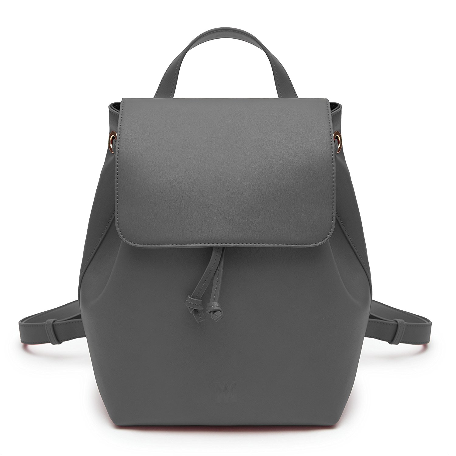 69a0ba5e787a Get Quotations · Marsi Bond Stylish Casual Vegan Faux Leather Fashion  Backpack for Women Scarlett