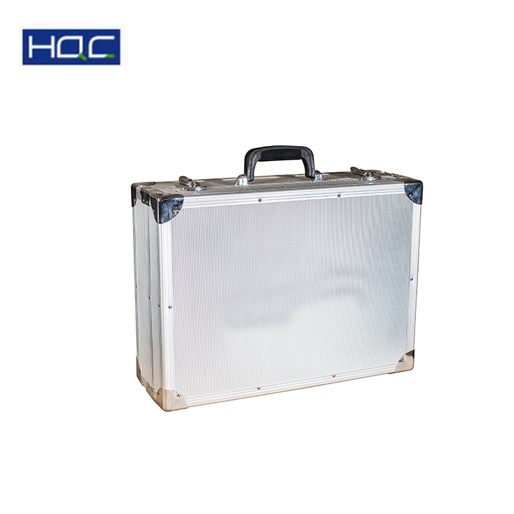 Silver surface ABS handle load tool MDF Diamond instrument case fabric,case instrument