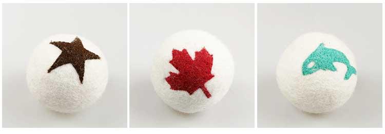 Pura lana della nuova zelanda essiccatore lavanderia palla asciutta