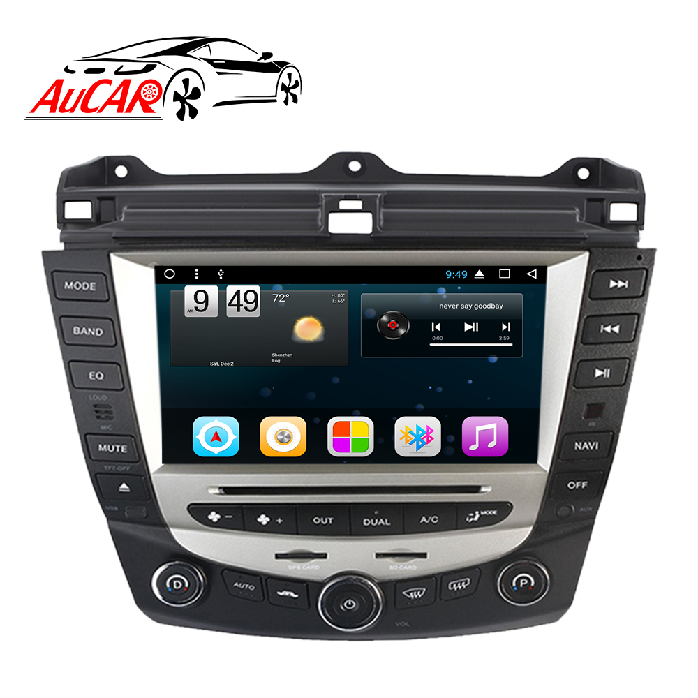 "AuCAR 8 ""Android Autoradio per Honda Accord 7 2003-2007 Europeo Touch Screen Multimedia Stereo Audio Video GPS BT 4G IPS WiFi"