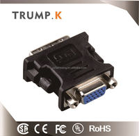 [TRUMP K for you] China Supplier dvi m to vga fadapter