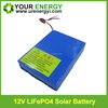 Hot sale lifepo4 battery pack 12.8V 12Ah lithium iron phosphate battery pack