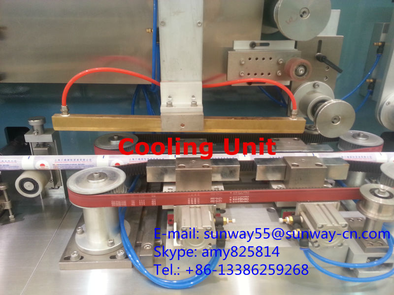Multiple layers PE Tube Making Machine for Cosmetic Toothpaste