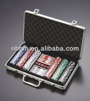 300 Pc Casino Style 11.5Gram Poker Chip Set