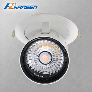 Exquisite design recessed downlight cut out size dia 100mm 10w led spotlight