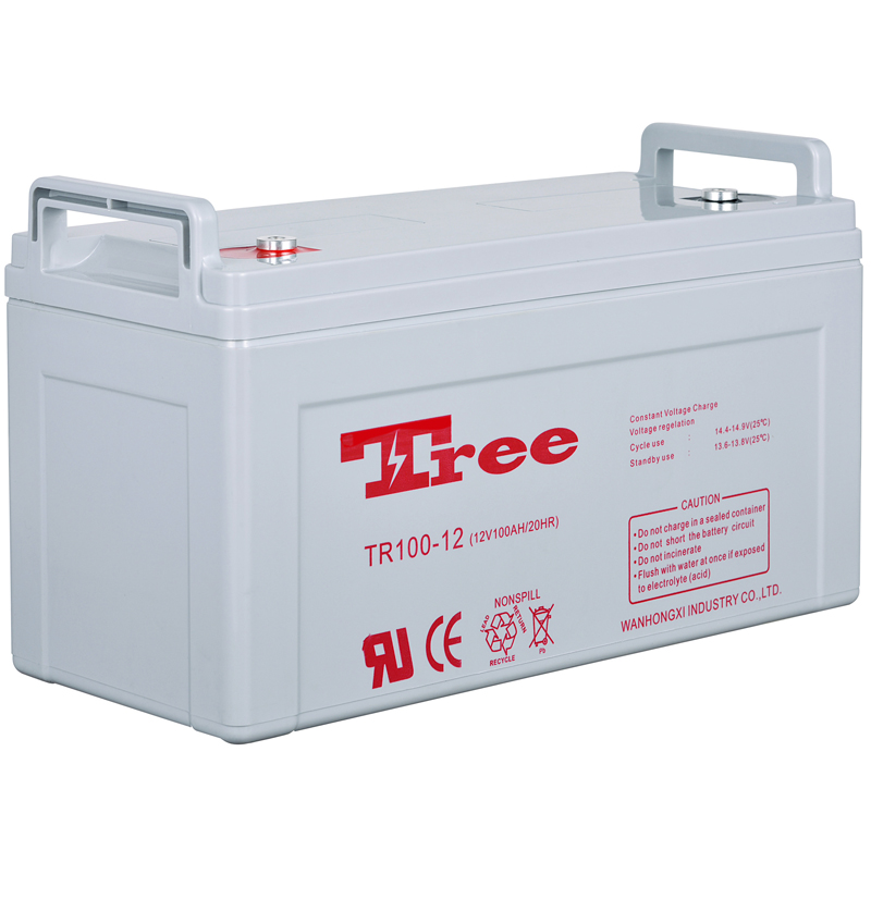 AGM/Deep cycle/Gel 12V 100AH high quality 12v 100ah agm deep cycle battery for wind turbine generator