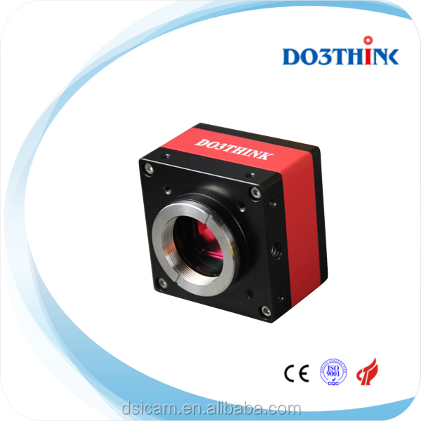 CCD Color high definition low noise C mount industrial camera with microscope