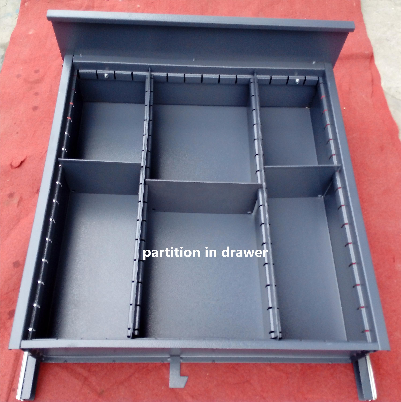 schwere werkzeugwagen werkzeugschrank mit holz desktop werkbank