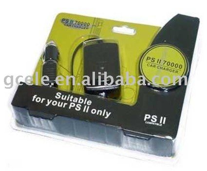 Car charger for PS2 slim