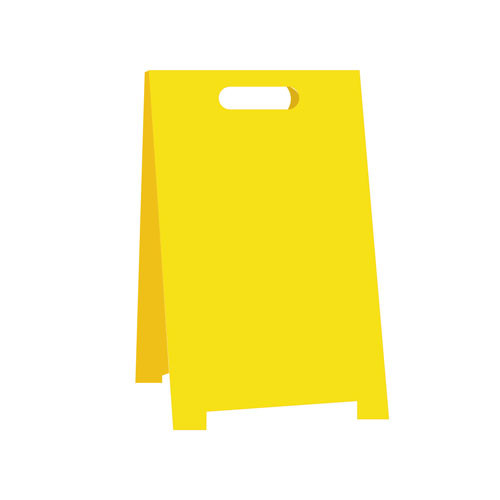 Folding Safety Sign A-framed Caution Wet Floor Traffic Road signs