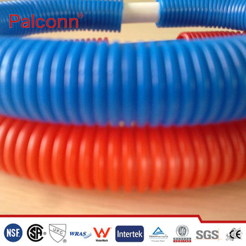 Pvc Hdpe Perforated Corrugated Subsoil Drainage Pipe With Filter Sock - Buy  Pvc Corrugated Drainage Pipe,Hdpe Drainage Pipe,Corrugated Pipe Product on