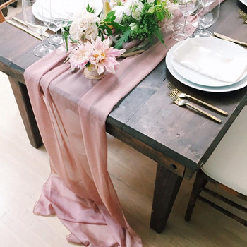 Chiffon Table Runner Wedding
